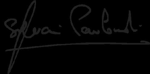 Logoype manuscrit Sylvain Pavlowski