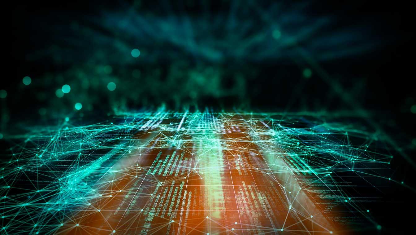 Image d'illustration de réseaux informatiques.