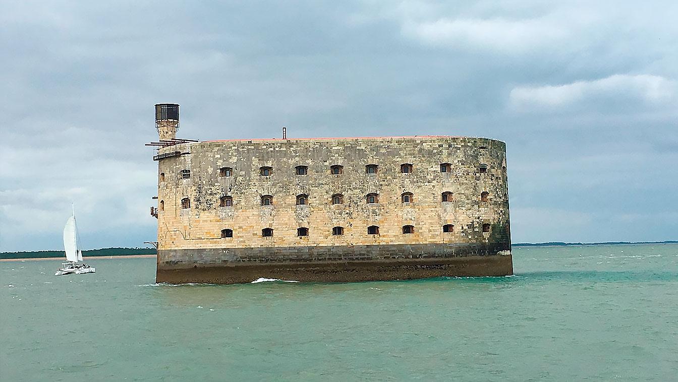 Photographie de Fort Boyard, Charente-Maritime.