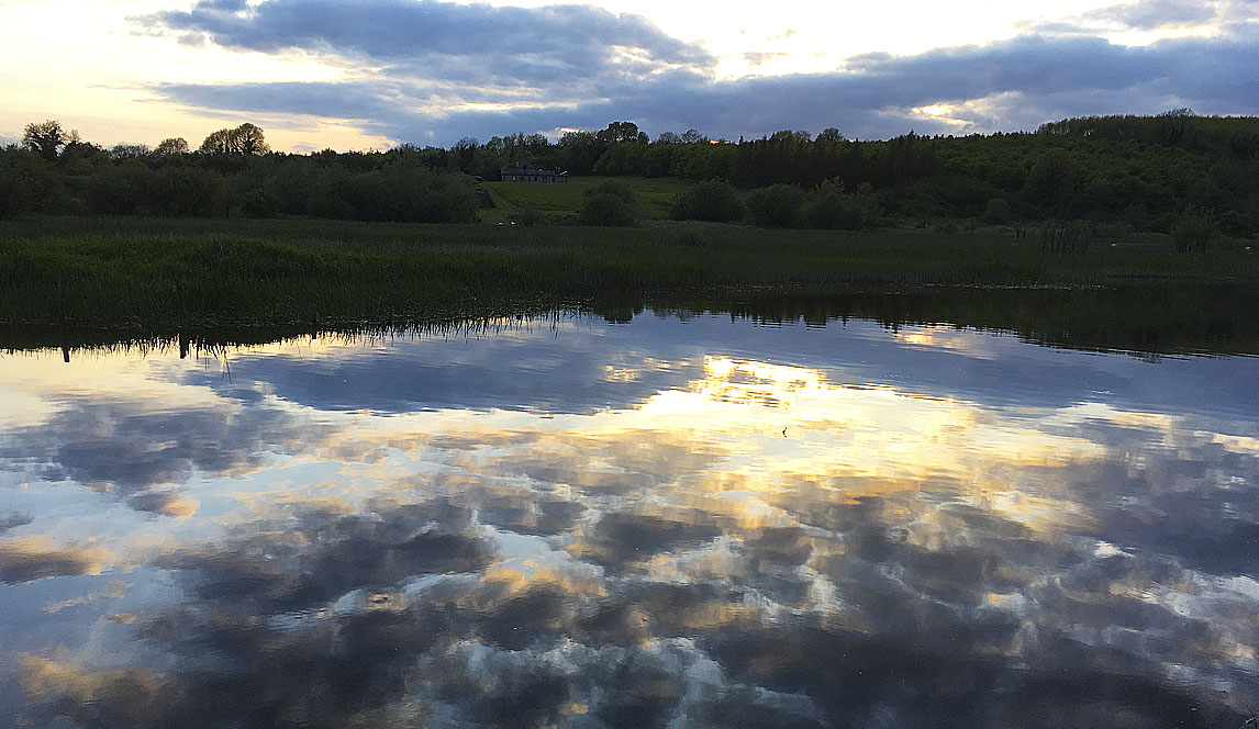 Photographie, quand le ciel et la terre ne forment qu'un – Irlande environs de Cavan